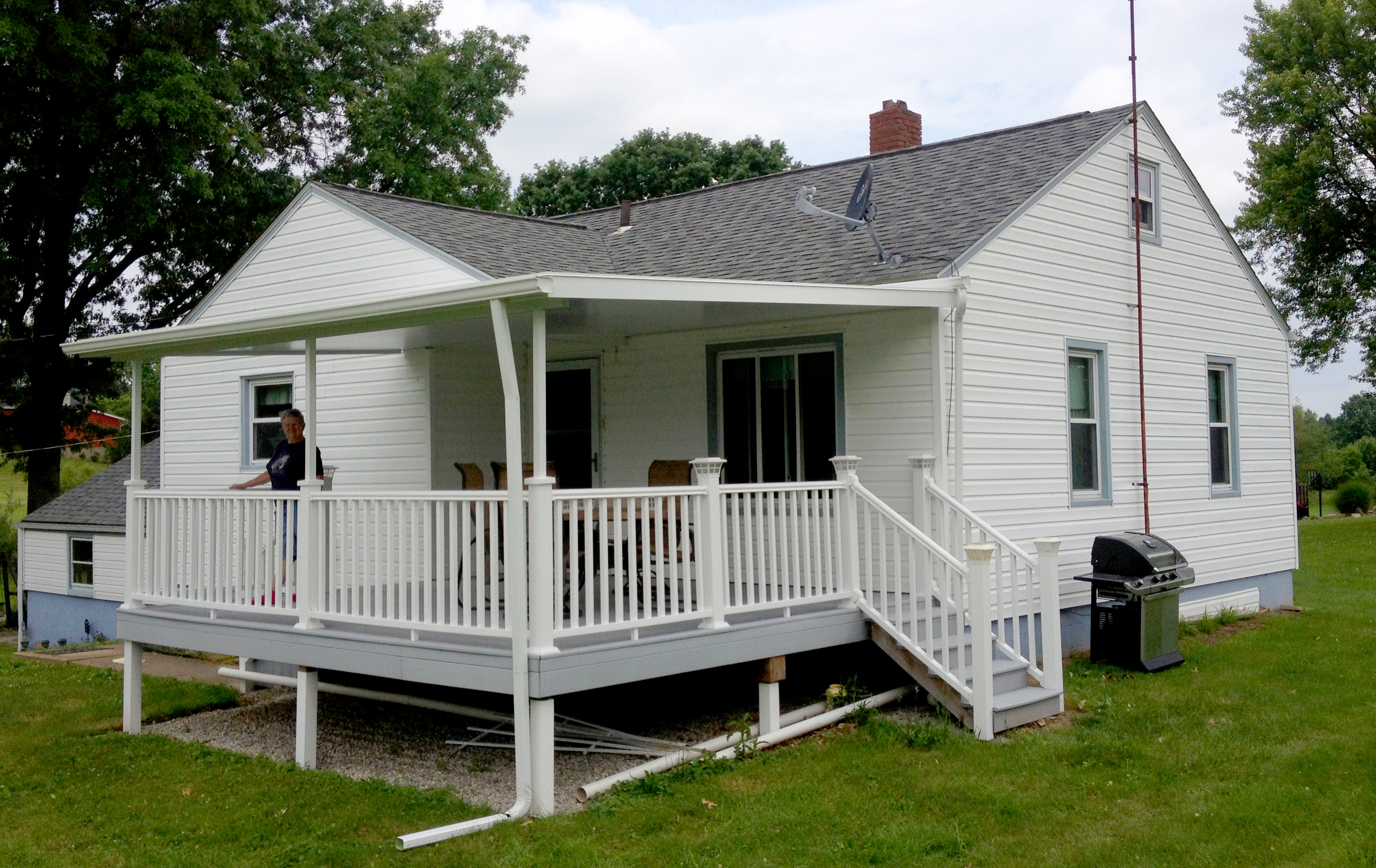 Akron Canton Awning Back Porch