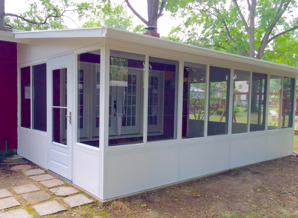 Akron Canton Awning Enclosed Patio
