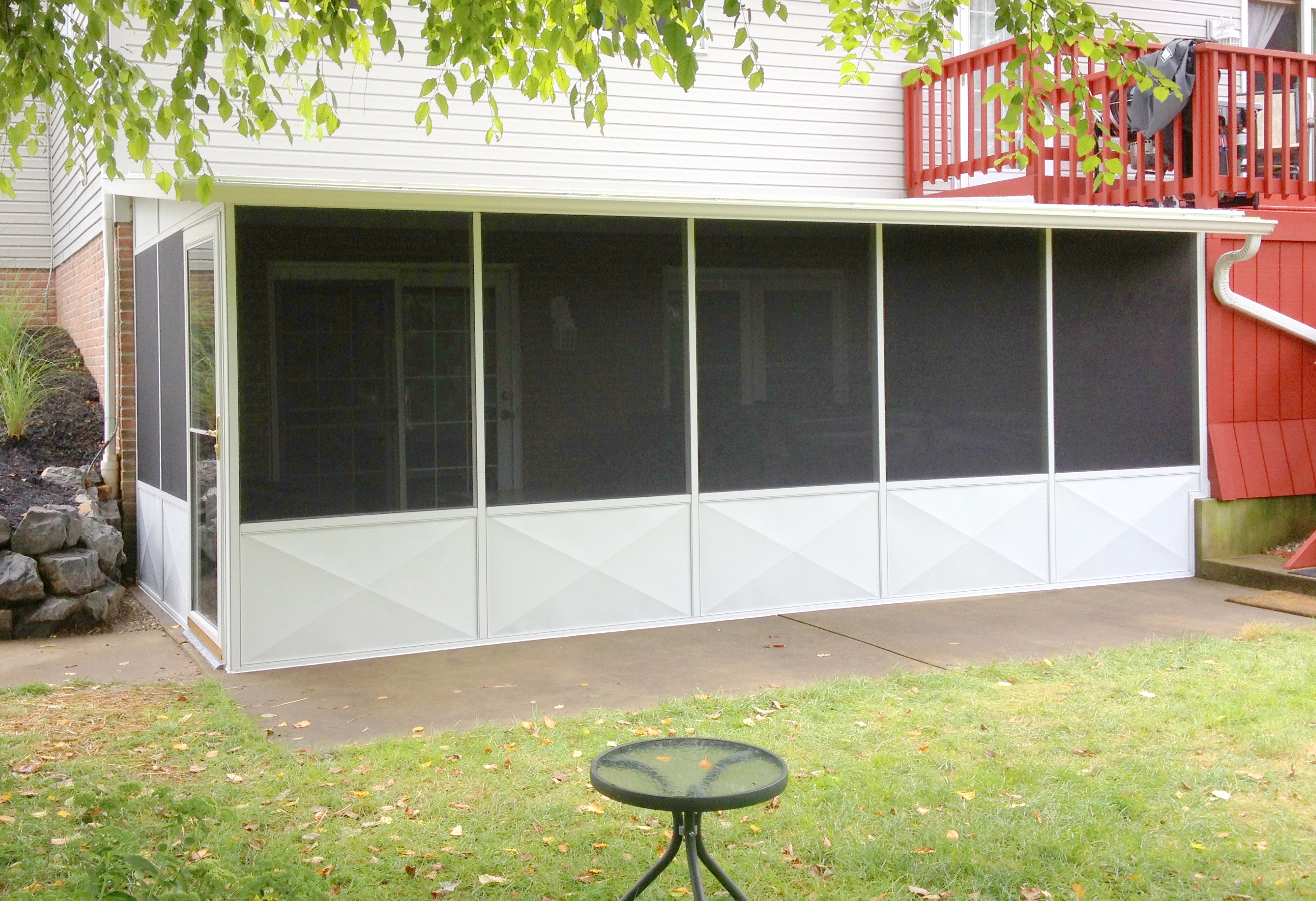 Akron Canton Awning Enclosed Porch