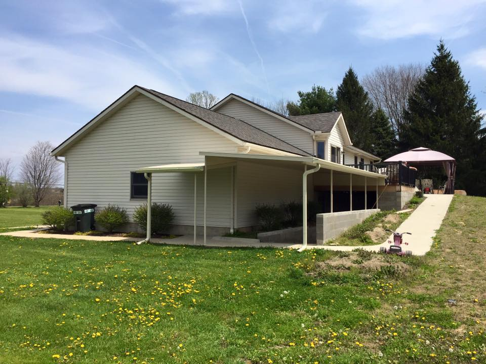 Akron Canton Awning Entry Covering