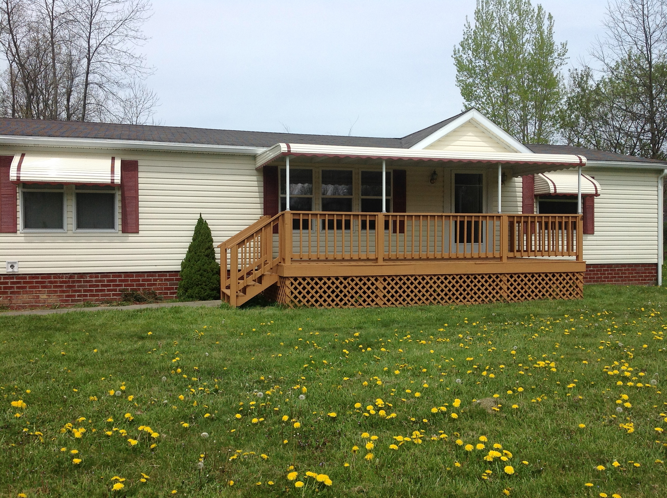 Akron Canton Awning Front Porch