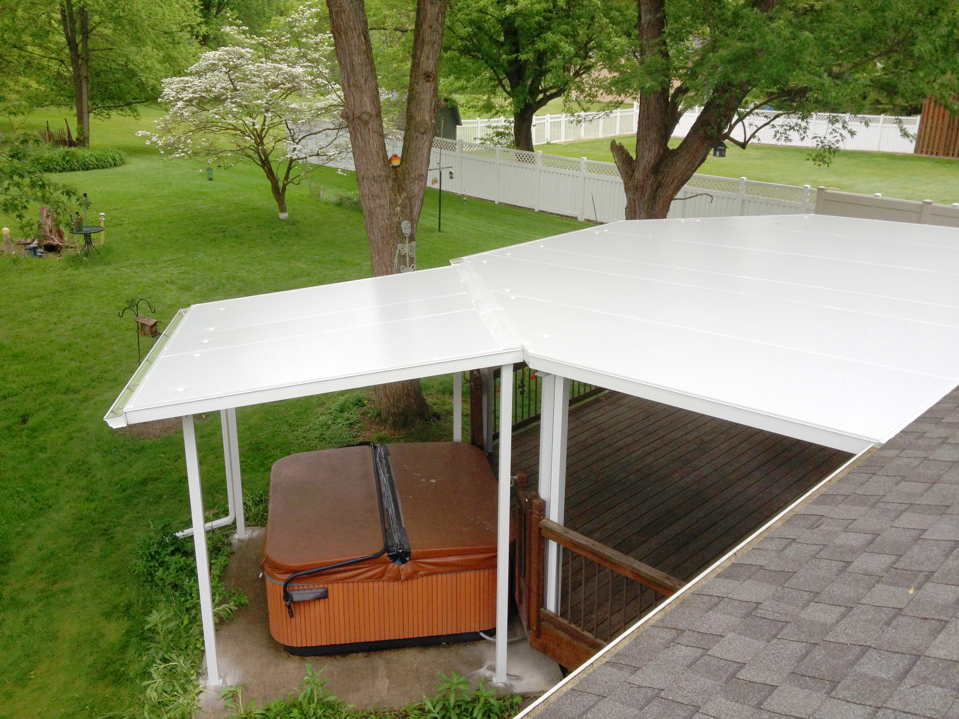 Akron Canton Awning Hot Tub Canopy