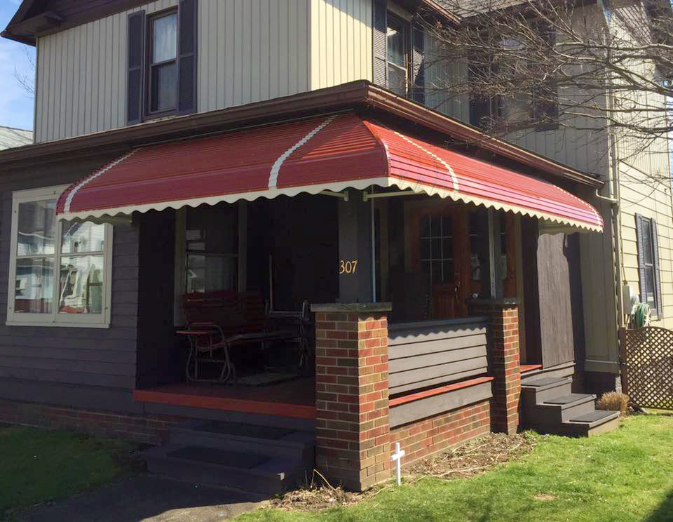 Akron Canton Awning Porch Awning