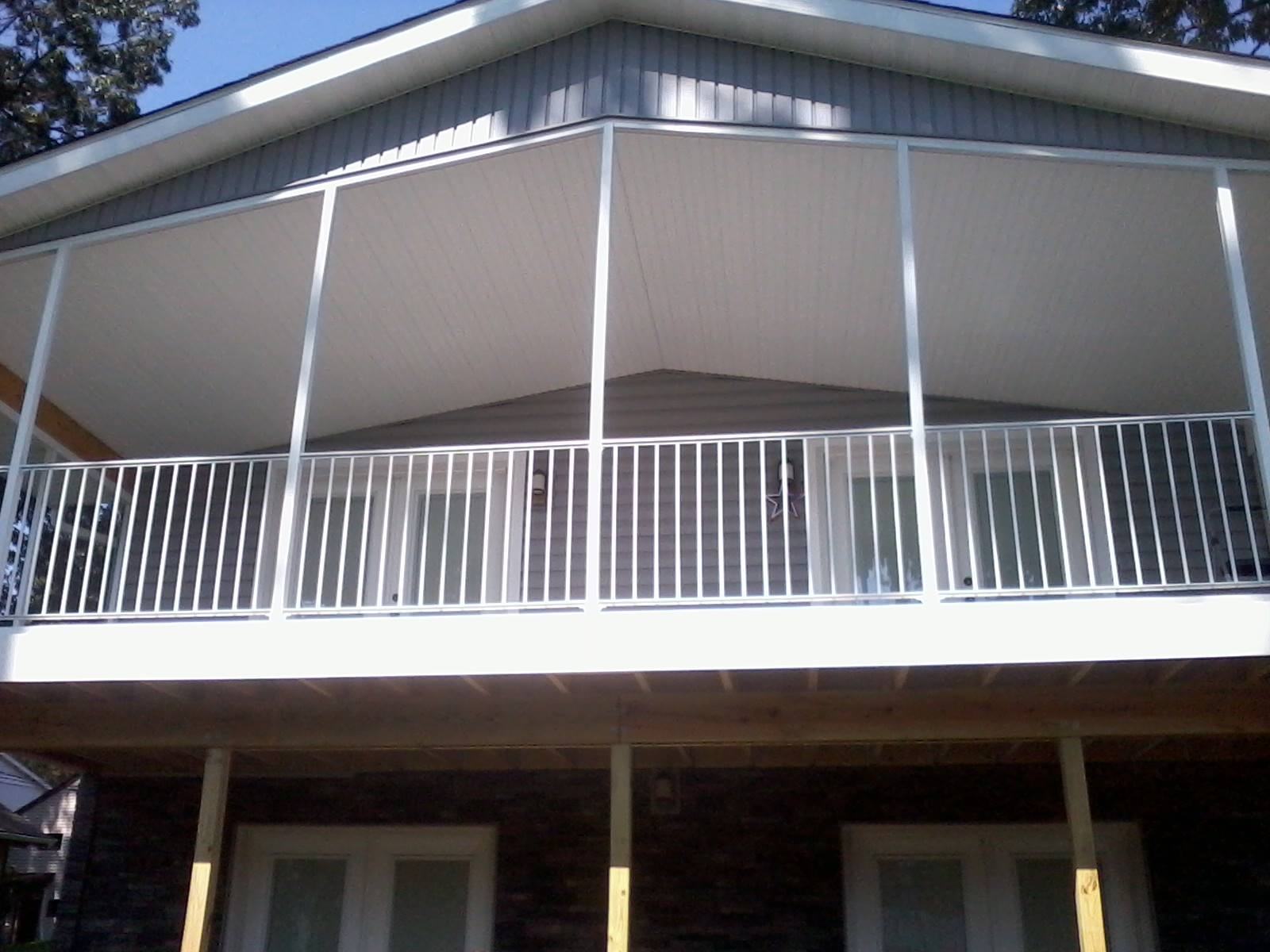 Akron Canton Awning Second Story Porch