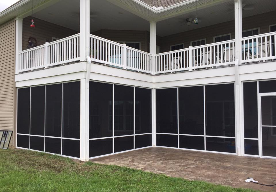 Akron Canton Awning Two Story Porch