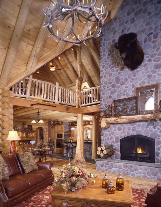 Capron Construction Company Fireplace Mantle Interior