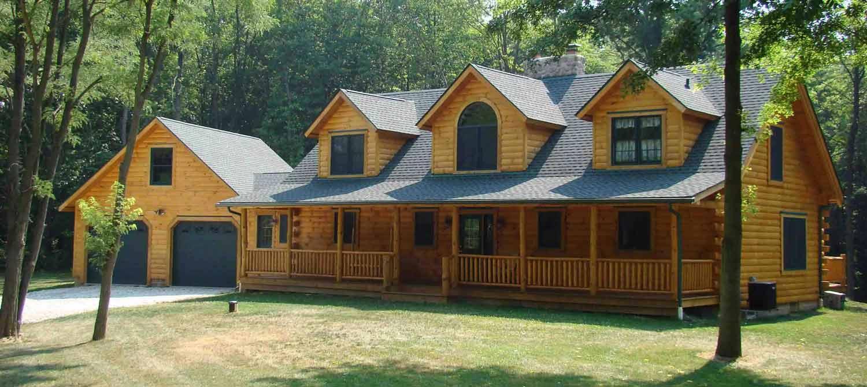 Capron Construction Company Log Home