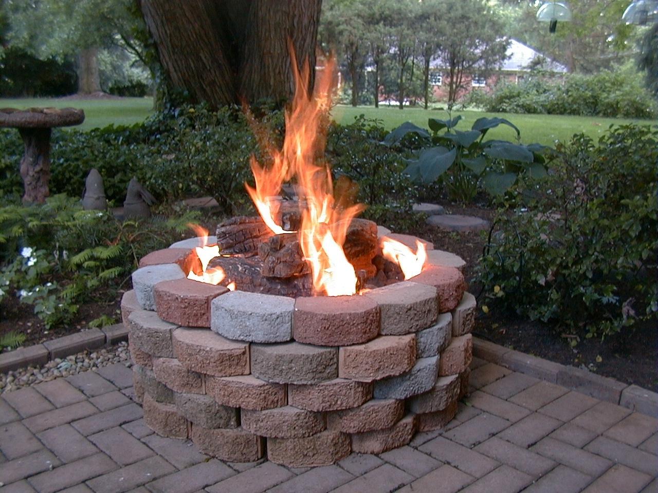 Custom Fireplace Shop Concrete Fire Pit Large