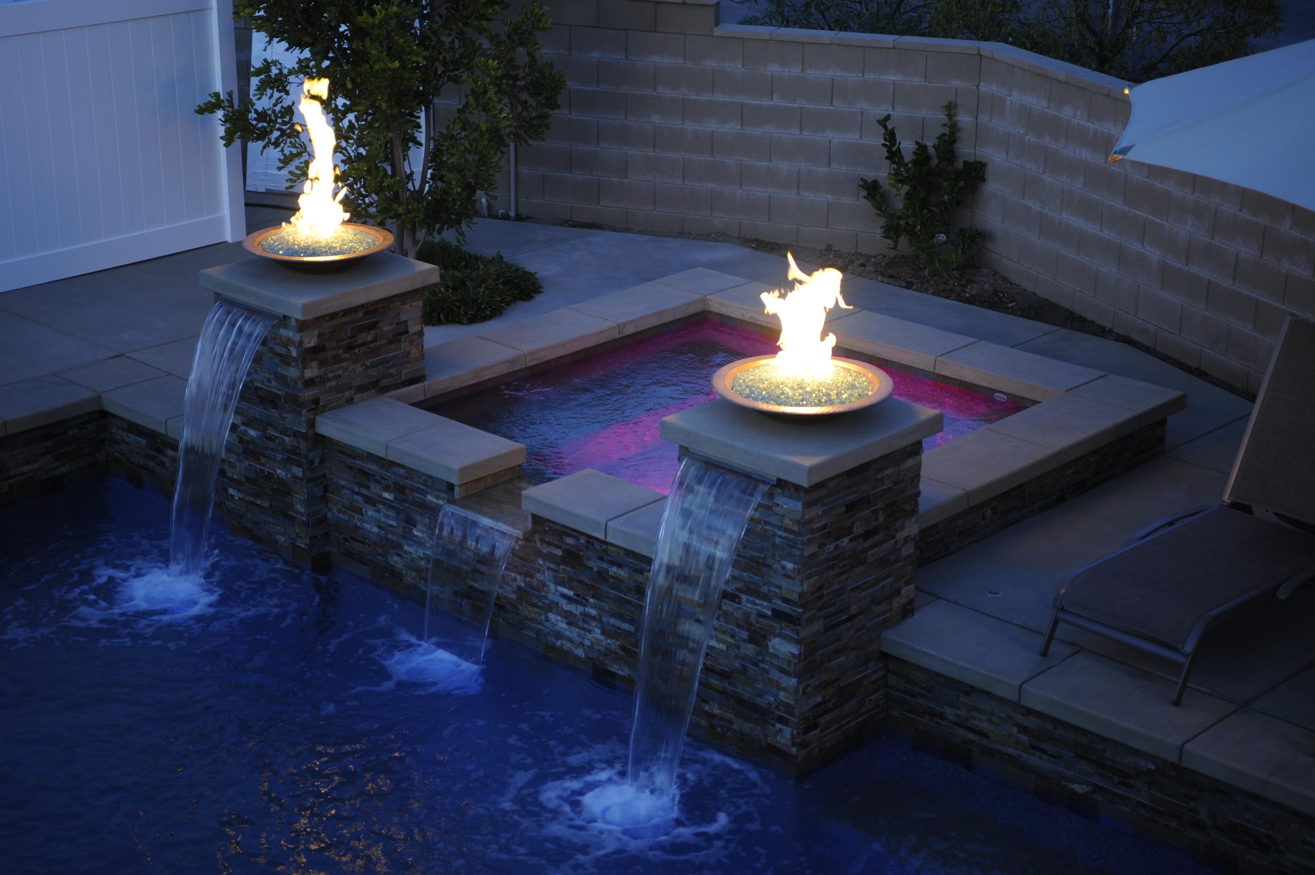 Custom Fireplace Shop Gas Fire Bowl Pool