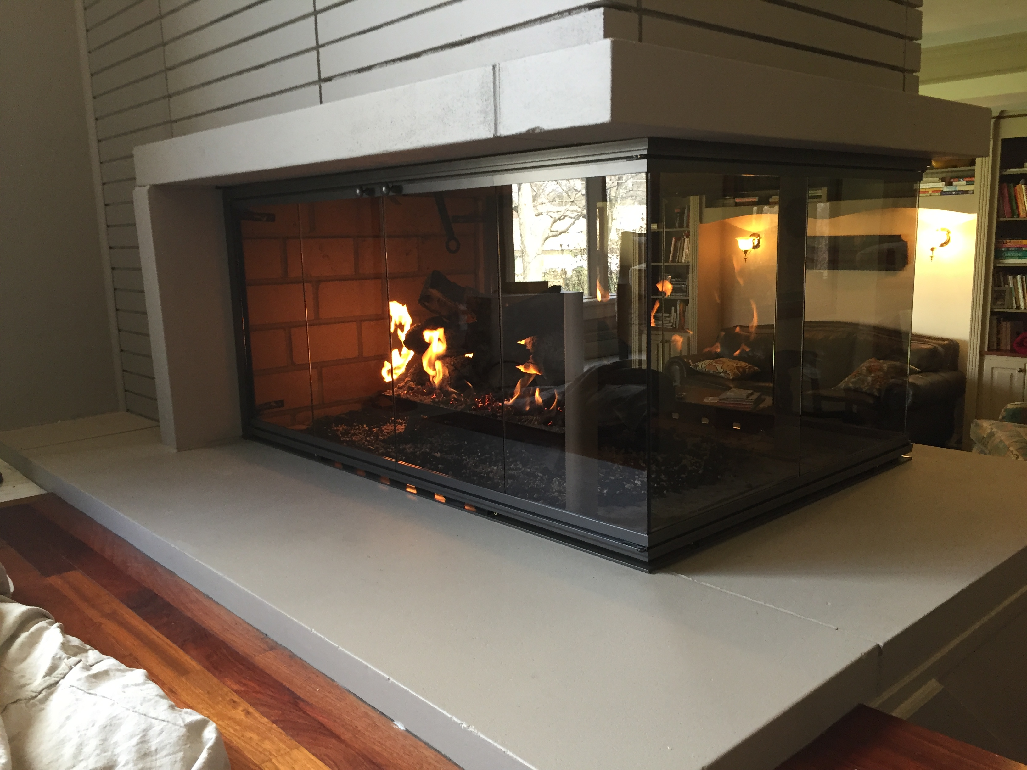 Custom Fireplace Shop Interior Fireplace