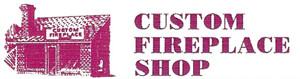 Custom Fireplace Shop Logo