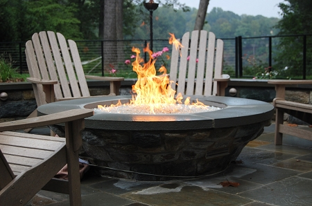 Custom Fireplace Shop Raised Fire Pit
