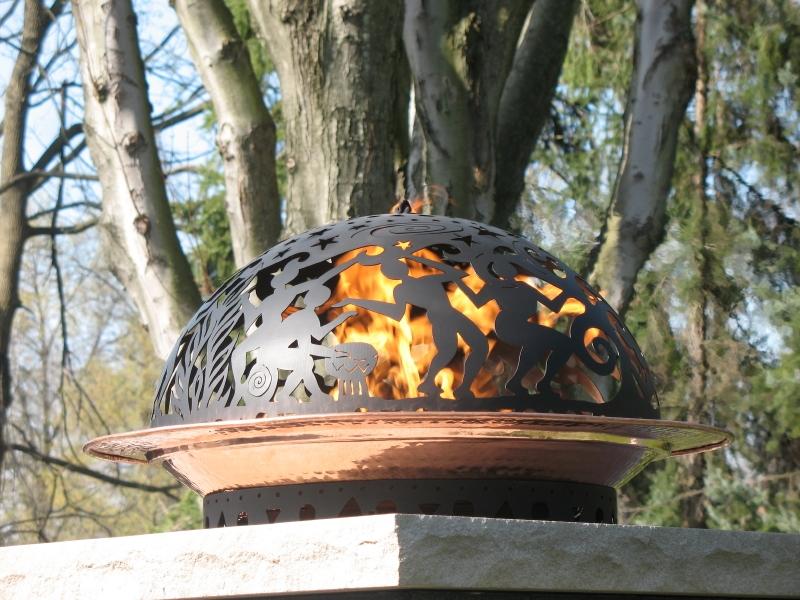 Custom Fireplace Shop Wrought Iron Fire Bowl