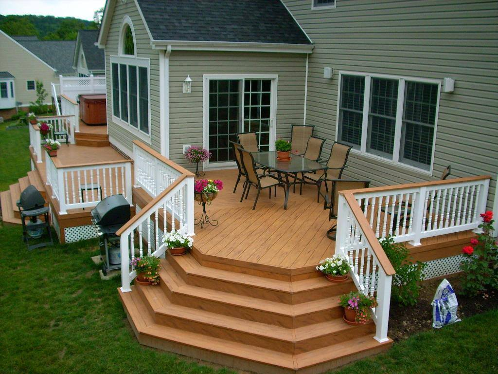 Energy Wise Home Improvement Backyard Deck