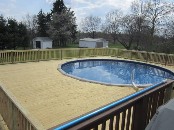 Energy Wise Home Improvement Deck With Spa
