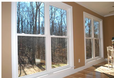 Energy Wise Home Improvement Window Install Interior View