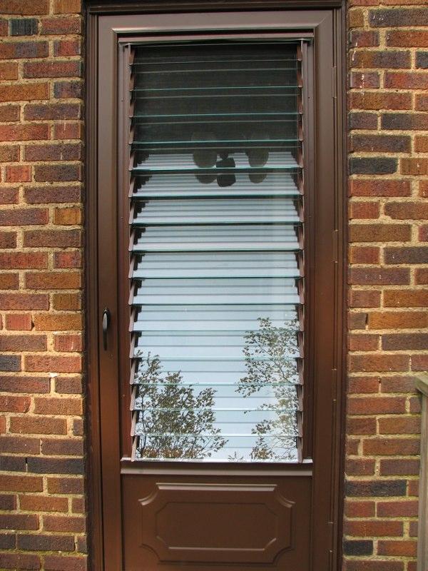 Euclid Jalousies Door Installation