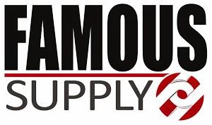 famous supply logo