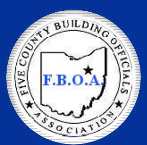 Five County Building Officials Association Logo