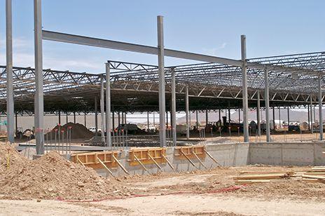 G B Hawk Construction Concrete Project