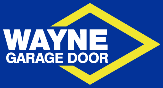 wayne garage doors sales and service logo